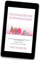 Surviving Life and Motherhood Book in ipad