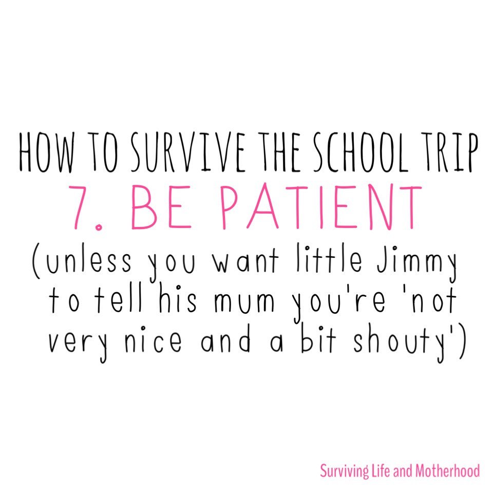How to Survive a School Trip